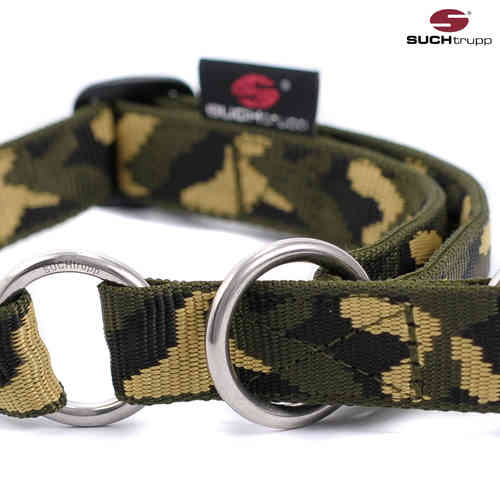 Schlupfhalsband, Stopp-Hundehalsband JUNGLE (Camouflage) medium
