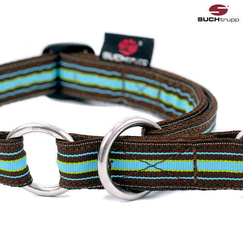 Schlupfhalsband, Stopp-Hundehalsband CHOCOLATE MINT medium