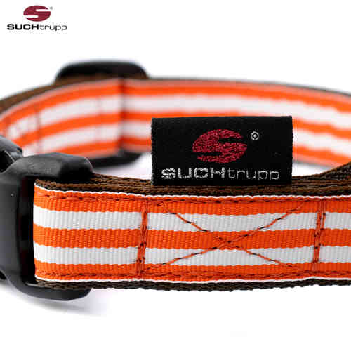 Hundehalsband ORANGE BEACH medium, Hundehalsbänder