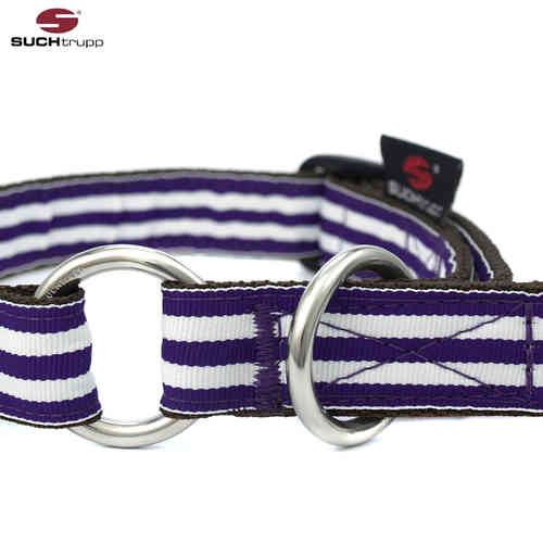 Schlupfhalsband, Stopp-Hundehalsband PURPLE BEACH medium