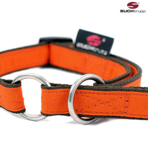 Schlupfhalsband, Stopp-Hundehalsband PURE ORANGE small