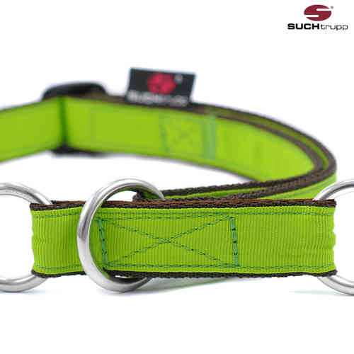 Schlupfhalsband, Stopp-Hundehalsband PURE LIME-GREEN large