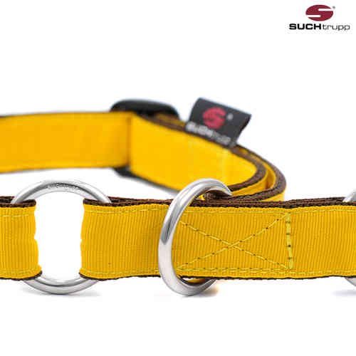 Schlupfhalsband, Stopp-Hundehalsband PURE YELLOW medium