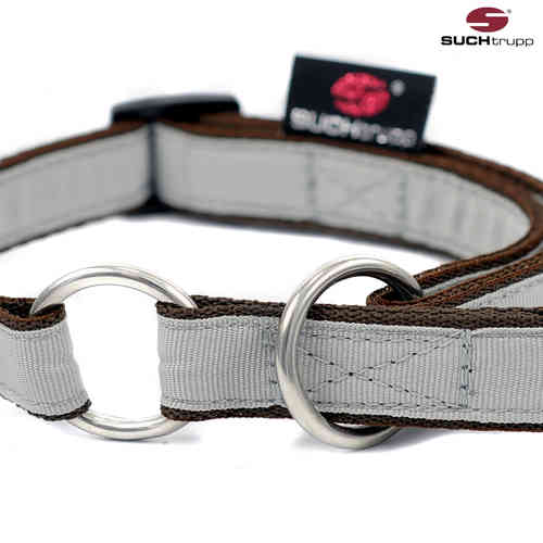 Schlupfhalsband, Stopp-Hundehalsband PURE LIGHT-GREY small