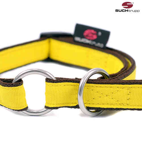 Schlupfhalsband, Stopp-Hundehalsband PURE LIGHT-YELLOW small