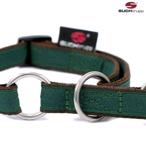 Schlupfhalsband, Stopp-Hundehalsband PURE BRITISH RACING GREEN small