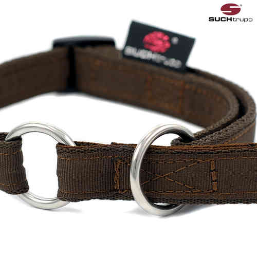 Schlupfhalsband, Stopp-Hundehalsband PURE CHOCOLATE-BROWN small