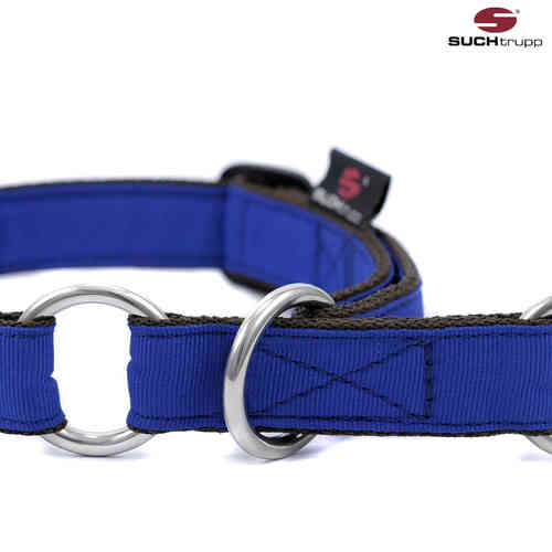 Schlupfhalsband, Stopp-Hundehalsband PURE ROYAL-BLUE medium