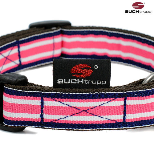 Hundehalsband POLO BERRY medium, Hundehalsbänder