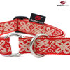 Schlupfhalsband, Stopp-Hundehalsband HAPPY red-white medium