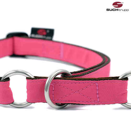 Schlupfhalsband, Stopp-Hundehalsband PURE BERRY-PINK large