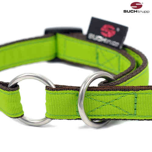 Schlupfhalsband, Stopp-Hundehalsband PURE LIME-GREEN small