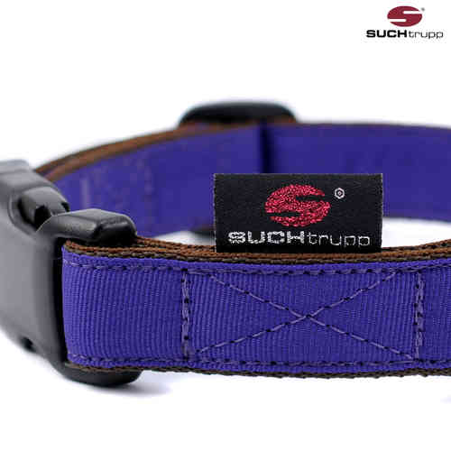 Hundehalsband PURE PURPLE medium, Hundehalsbänder