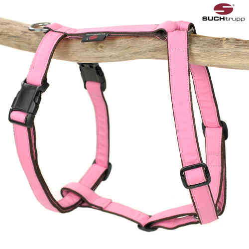 Hundegeschirr, Brustgeschirr PURE LIGHT-PINK large