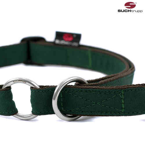 Schlupfhalsband, Stopp-Hundehalsband PURE BRITISH RACING GREEN large
