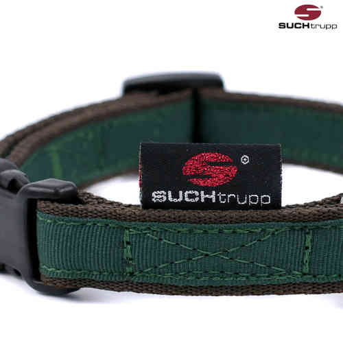 Hundehalsband small PURE BRITISH RACING GREEN, Hundehalsbänder