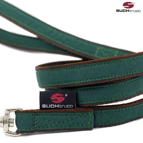 Cityleine / Countryleine, Hundeleine, Führleine PURE BRITISH RACING GREEN small