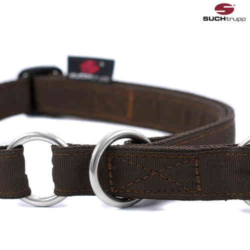 Schlupfhalsband, Stopp-Hundehalsband PURE CHOCOLATE-BROWN large