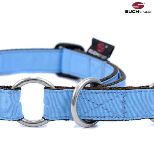 Schlupfhalsband, Stopp-Hundehalsband PURE LIGHT-BLUE medium