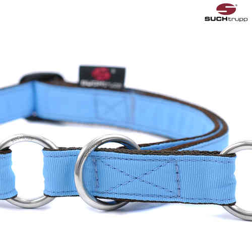 Schlupfhalsband, Stopp-Hundehalsband PURE LIGHT-BLUE large