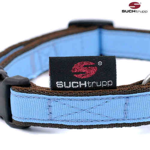 Hundehalsband small PURE LIGHT-BLUE, Hundehalsbänder
