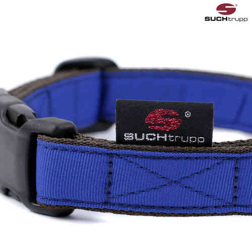 Hundehalsband PURE ROYAL-BLUE medium, Hundehalsbänder