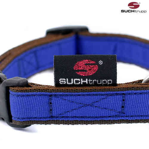 Hundehalsband small PURE ROYAL-BLUE, Hundehalsbänder