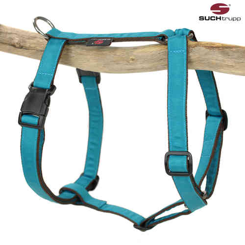 Hundegeschirr, Brustgeschirr PURE TURQUOISE large